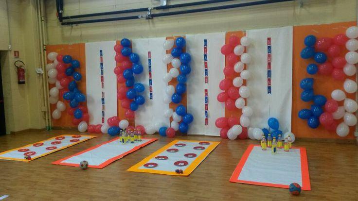 Parete Giochi! #bowling #game #giochi #festa #bambini #ideeperlafesta
