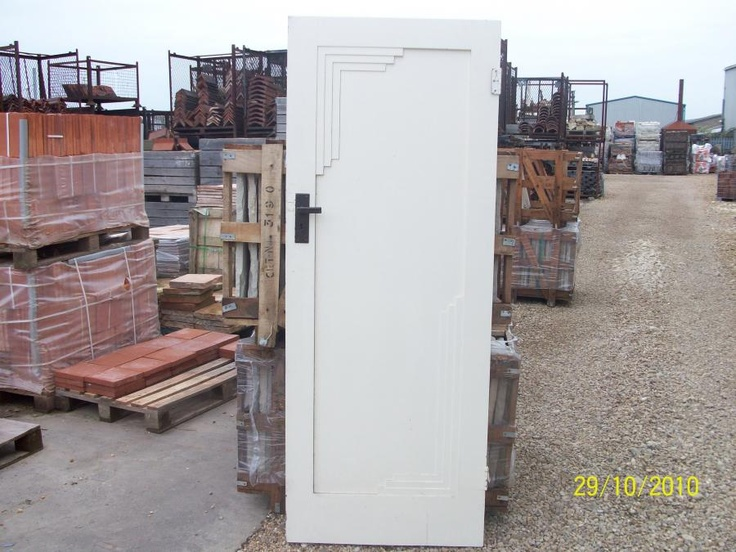 Art Deco interior door found on a reclamation yard website. Amazing. & Best 25+ Reclamation yard ideas on Pinterest | House water pump ... pezcame.com