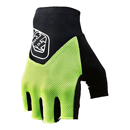 Special Offers - Troy Lee Designs Ace Fingerless Mens Bicycle BMX Gloves  Flo Yellow / X-Large - In stock & Free Shipping. You can save more money! Check It (November 25 2016 at 11:25PM) >> http://motorcyclejacketusa.net/troy-lee-designs-ace-fingerless-mens-bicycle-bmx-gloves-flo-yellow-x-large/