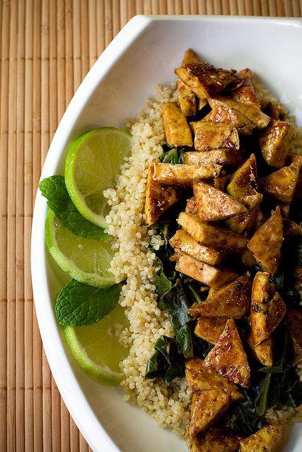 Sweet Chili Lime Tofu. Make this with stir-fry?