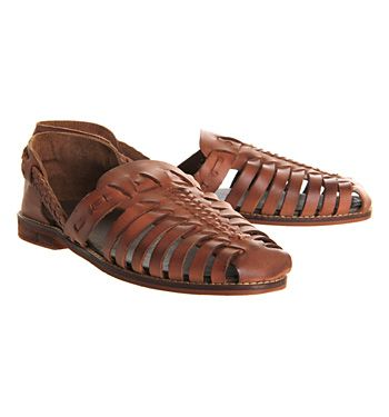 Ask the Missus Nero Sandal Tan Leather