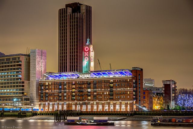 OXO Tower HDR, via Flickr.