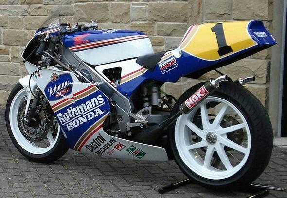 Honda nsr 250 2s Rothmans Cadalora 1992