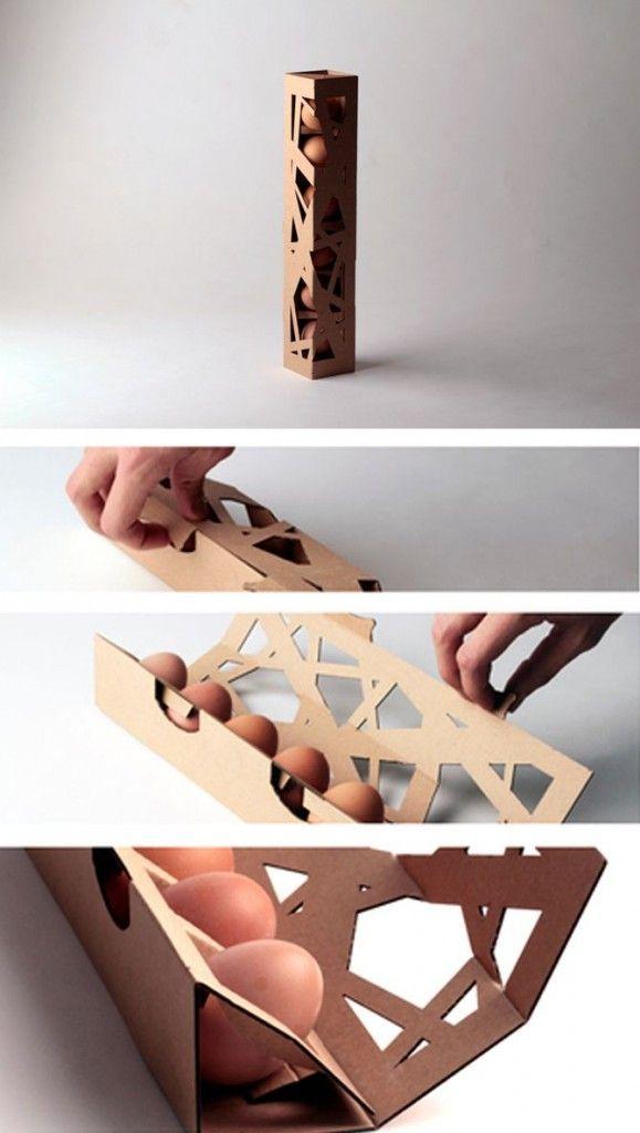 Nest cardboard packaging