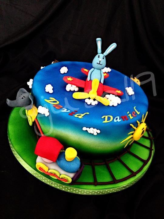 Animals Cake, Kikaninchen Torte