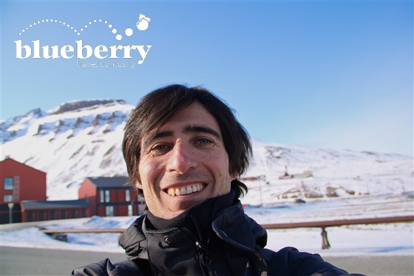 Stefano di Blueberry alle Svalbard