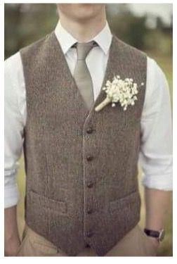 Vintage-Hochzeit-Anzug-Bräutigam