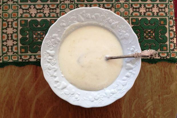 Γλυκός τραχανάς της θαλπωρής, με γάλα, τριμμένη φέτα και λίγο φρέσκο βούτυρο για άρωμα. Μπορώ να τον τρώω καθημερινά χωρίς να βαριέμαι