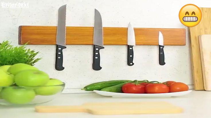 IDEAS EN 5 MINUTOS  - Porta cuchillos magnético