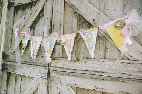 Country Wedding Bunting
