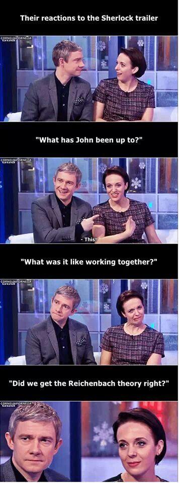 <3's Amanda Abbington, always and forever. Oh, and that John Watson dude is pretty cool, too.