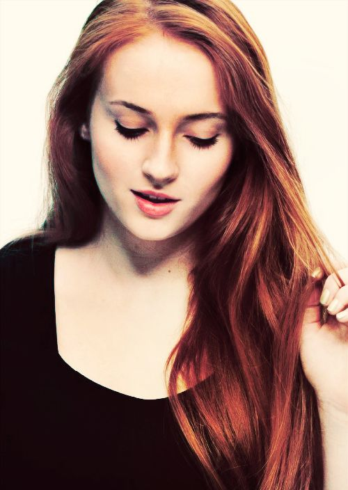 Sophie Turner from Game of Thrones... She has Branden's same nose, hopefully our kids will get it haha