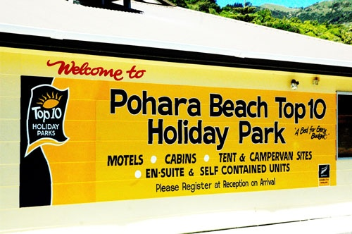 Pohara Beach Holiday Park   one of our favourites