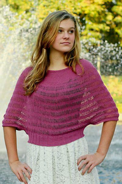 Rosarian pullover: Spring+Summer 2014 free pattern