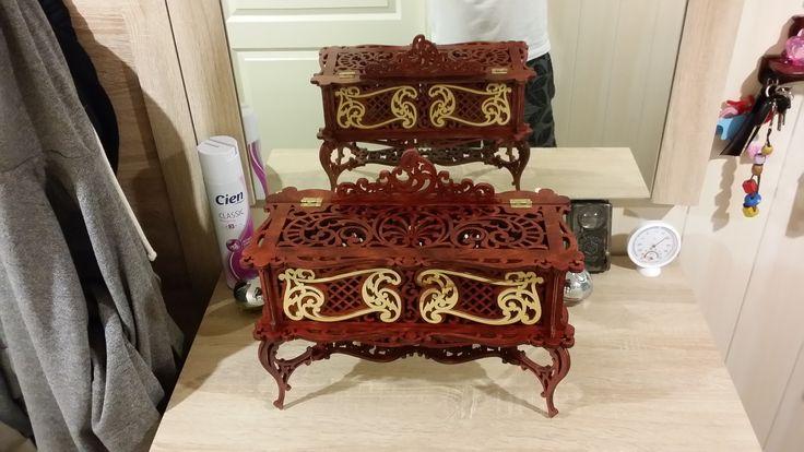 13. DIY : Jewellery box (Венецианская шкатулка)