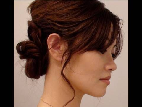 How To Hair Tutorial Romantic Updo Valentines Day Look