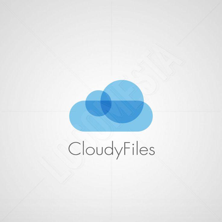 Logo Designs | Cloudy Files Logo Design | LogoMesta