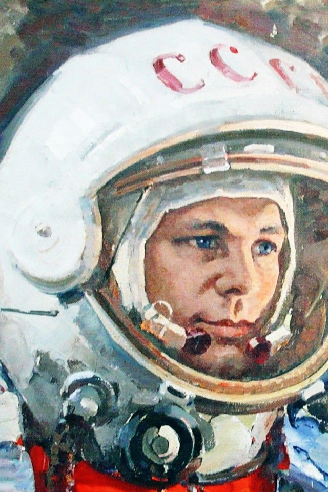 宇宙飛行士, ユーリのガガーリン, 宇宙服, ソ連 iPhone 4S 背景 壁紙 640x960 無料壁紙,画像,写真,背景,素材