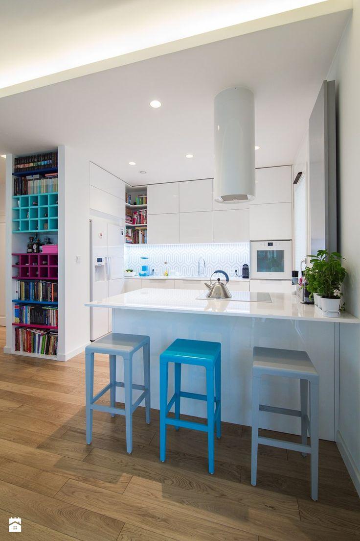 Różowy Wilanów - Kuchnia, styl nowoczesny - zdjęcie od EG projekt