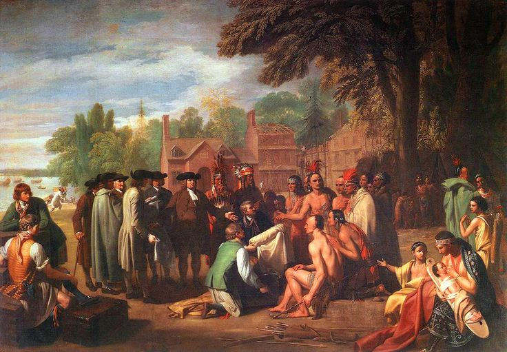 awesome William Penn's Treaty with the Indians