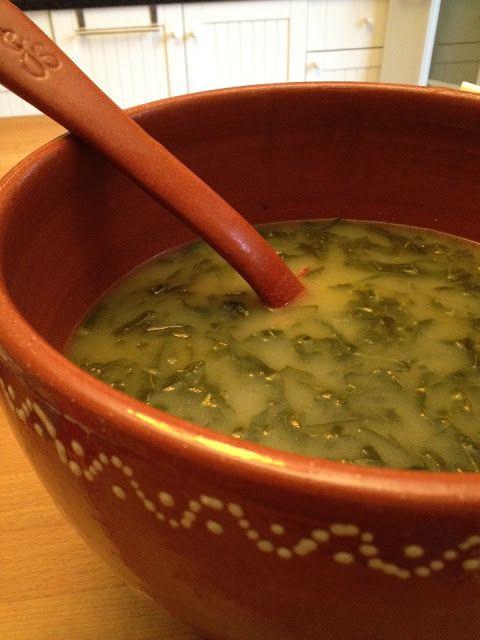 Caldo Verde…Collard greens soup