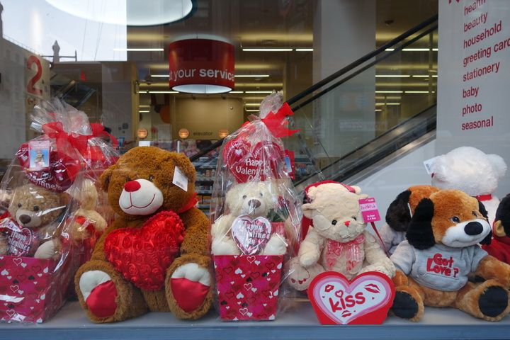 valentines day bears cvs