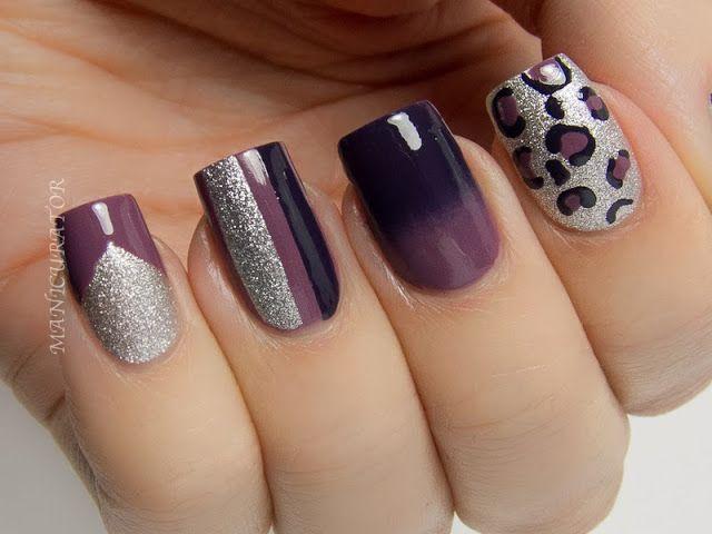color block toon nail