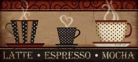 Latte - Espresso - Mocha