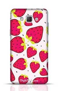 Red Strawberry Samsung Galaxy A5 Phone Case