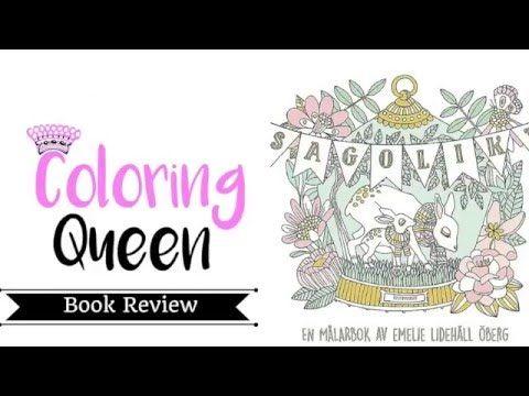 Sagolikt Fabulous Swedish Adult Coloring Book