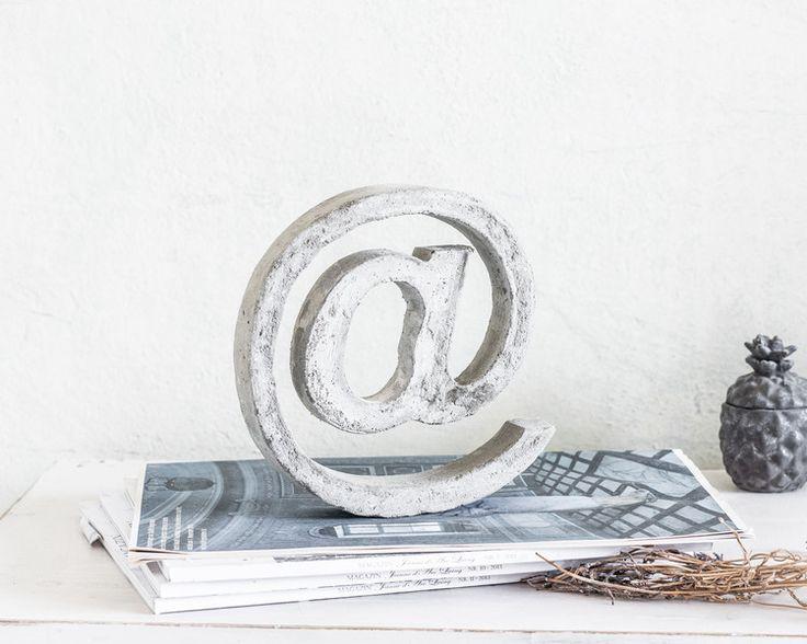 151 besten Beton-Lettering Bilder auf Pinterest Bastelei - beton basteln garten