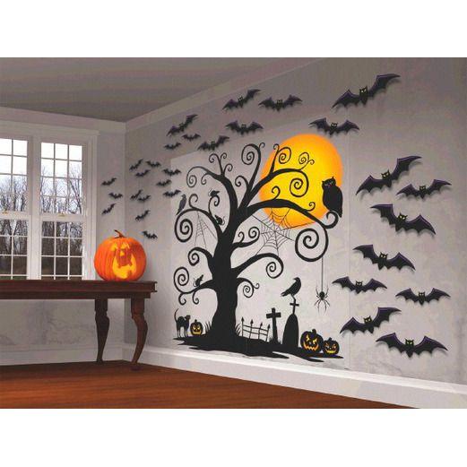 halloween decorations halloween scene setter image