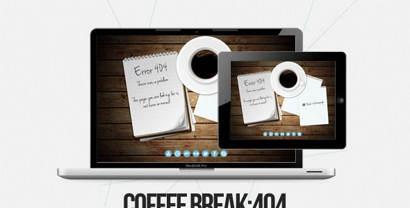Coffee Break - 404 Pages Specialty Pages
