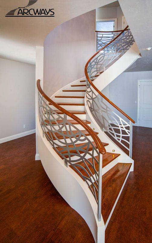 Pre Finished Staircase | Pre Finished Spiral Stairs | Pre Finished Stairway