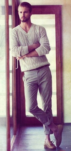 Wearing an expensive sweater is... amazing. Nothing feels like it. The weight, the fit... wait why am I even saying this?