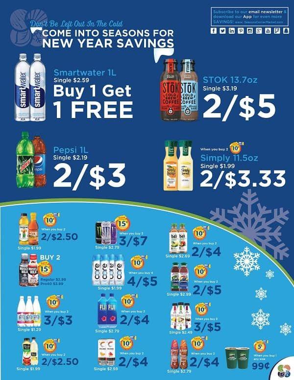 Seasons Corner Market New Monthly Specials  Fuel Rewards Flyer