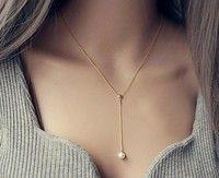 Pearl Pendant Necklace Chain short clavicle women chain Korean jewelry accessories