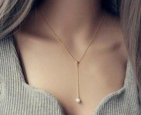 Pearl Pendant Necklace Chain short clavicle women chain Korean jewelry accessories