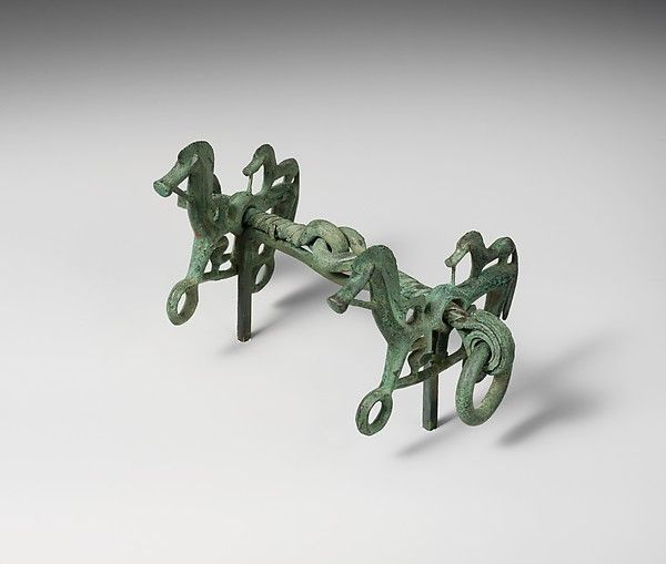 Bronze horse bit