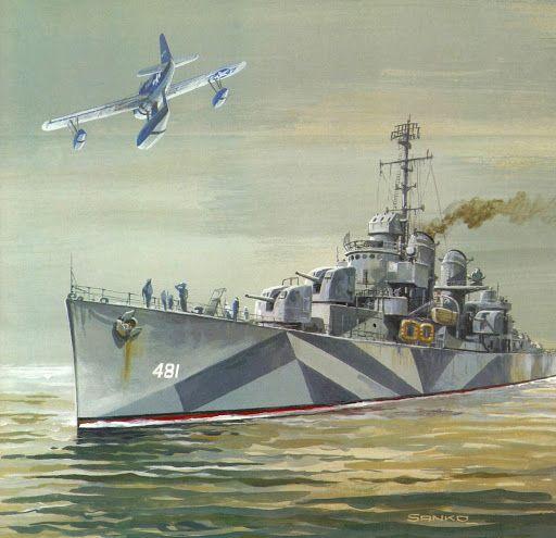 destructor americano clase Fletcher
