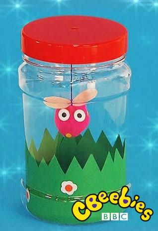 Fancy making a bug in a jar? Here's a really easy make courtesy of CBeebies' Mr Maker!
