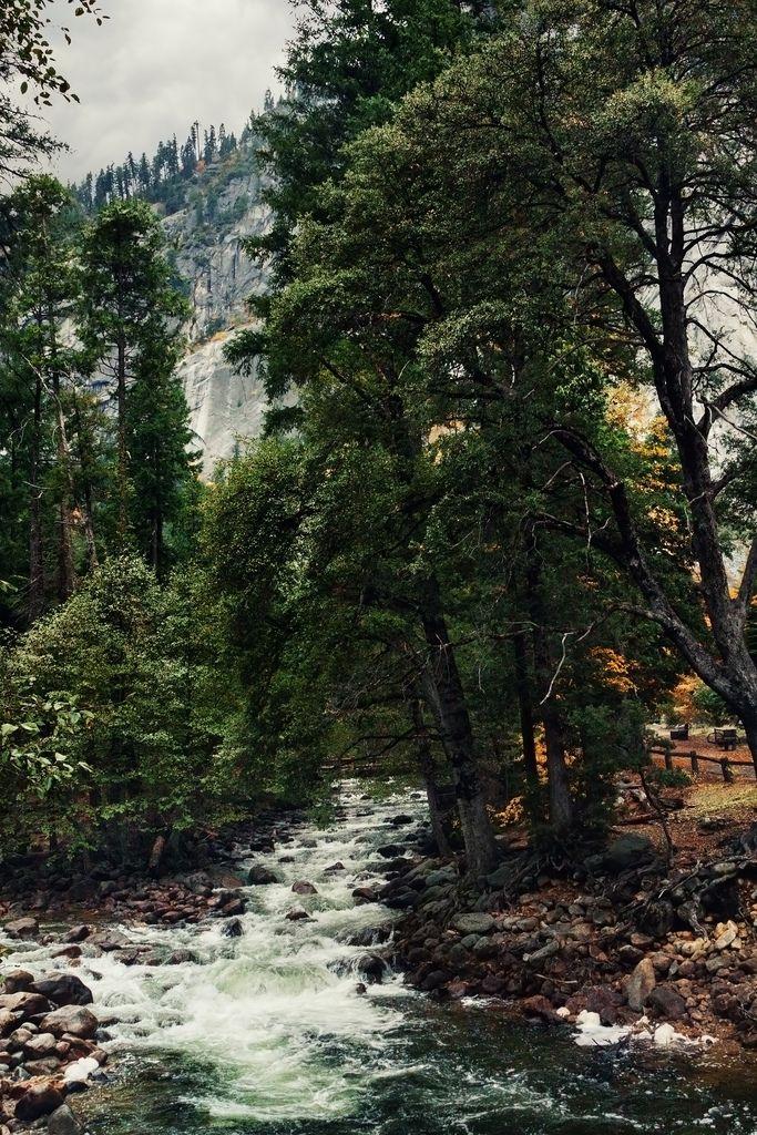 Yosemite, California photographed by Ramin Hossaini