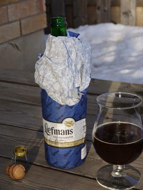 Clockwatching Tart: The Beer Baron: Liefmans Goudenband