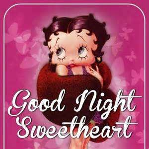 Good Night Betty Boop