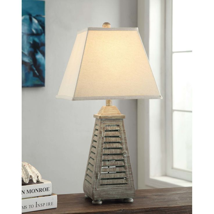 13 best lamps images on pinterest ceramic table lamps jim o found it at wayfair shutter tower table lamp aloadofball Image collections