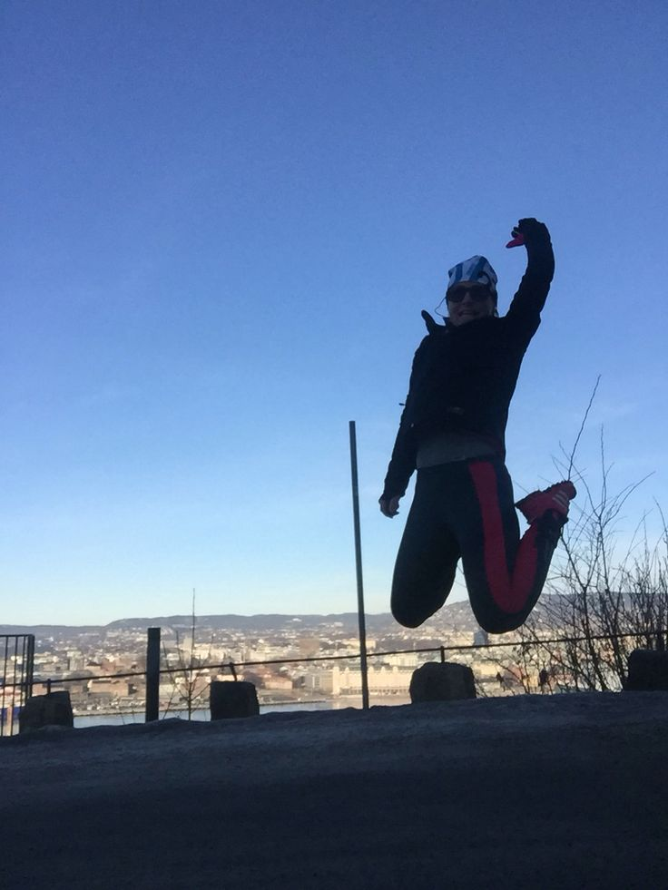 Jumping in Oslo -