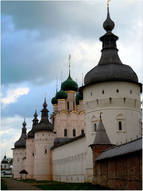 "Rostov Kremlin.""Rostov the Great"" is one of the oldest town in Russia."