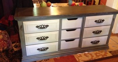 new life to dated dresser, chalk paint, painted furniture, Refurbished dresser