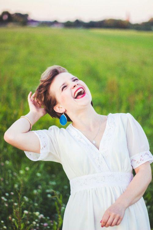 { Anna Słapek - fotografia } #redlips #laugh #women #photography
