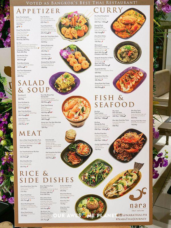 Nara Thai Finally Legit Thai Food In Manila Thai Food